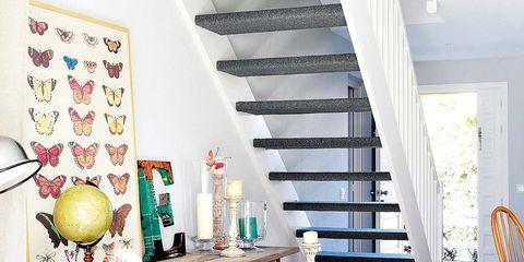 Room, Interior design, Furniture, Table, Yellow, Floor, Turquoise, Home, Shelf, House,