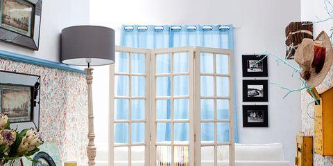 Blue, Room, Interior design, Floor, Flooring, Wall, Turquoise, Teal, Interior design, Aqua,
