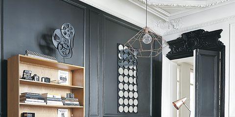 Wood, Room, Floor, Interior design, Flooring, Furniture, Table, Drawer, Hardwood, Ceiling,