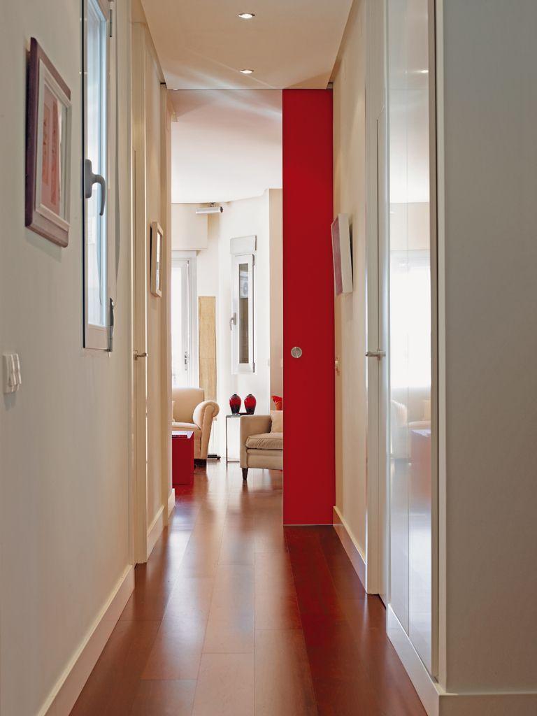 Colores para pintar pasillo y recibidor interesting good pasillo largo pintado en blanco y - Pintar pasillo moderno ...