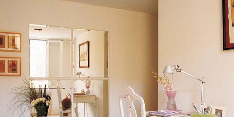 Room, Interior design, Interior design, Picture frame, Floor, Dining room, Home, Vase, Houseplant, Flowerpot,