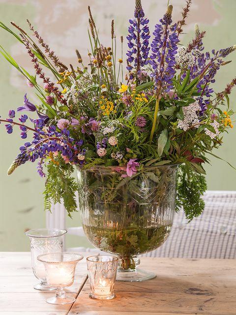 Flower, Bouquet, Lavender, Cut flowers, Vase, Plant, Purple, Lilac, Floristry, Still life,