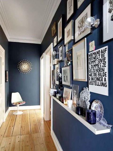 10 Pasillos Estrechos Decorados Con Mucha Gracia - Decoracion-de-pasillos-pequeos