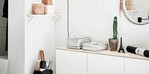 14 Recibidores Blancos Y Pequenos - Muebles-recibidores-pequeos
