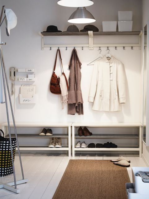 Room, Interior design, Floor, Flooring, Light fixture, Lampshade, Clothes hanger, Interior design, Lighting accessory, Lamp,