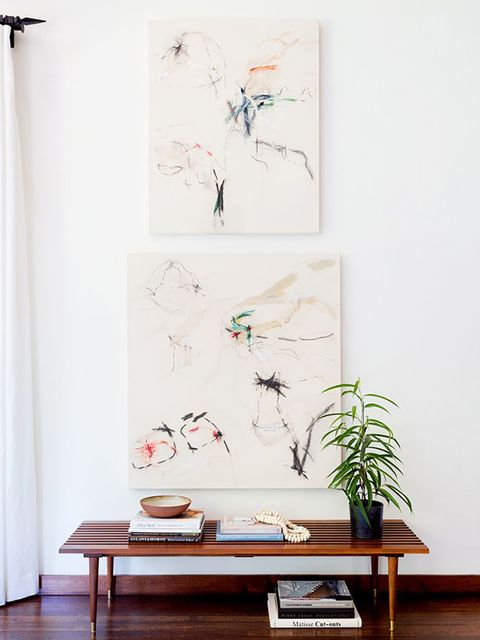 White, Furniture, Room, Interior design, Table, Wall, Leaf, Plant, Tree, Flower,