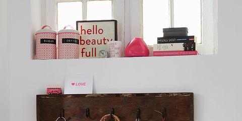 Room, Interior design, Bag, Home accessories, Basket, Interior design, Shelving, Shoulder bag, Wicker, Coquelicot,