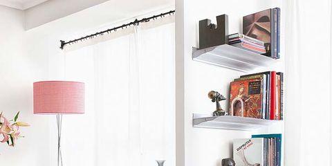 Wood, Room, Interior design, Floor, Flooring, Wall, Furniture, Shelving, Shelf, Table,