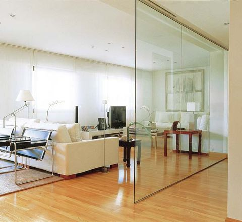 Room, Living room, Interior design, Floor, Furniture, Property, Laminate flooring, Wood flooring, Building, Ceiling,