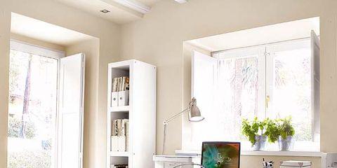 Room, Wood, Interior design, Floor, Flooring, Ceiling, Furniture, Table, Home, Drawer,