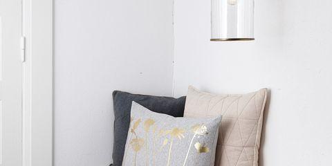 Room, Wall, Furniture, Pillow, Throw pillow, Interior design, Floor, Door, Cushion, Home accessories,