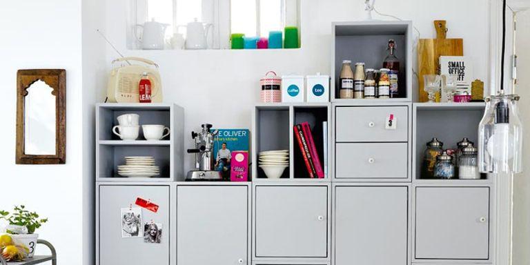 Ideas para organizar despensas trasteros y armarios - Cocina portatil ikea ...