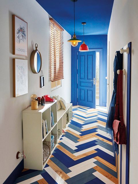 Blue, Lighting, Room, Interior design, Floor, Flooring, Textile, Wall, Ceiling, Interior design,