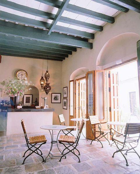 Interior design, Room, Furniture, Ceiling, Floor, Table, Real estate, Home, House, Interior design,