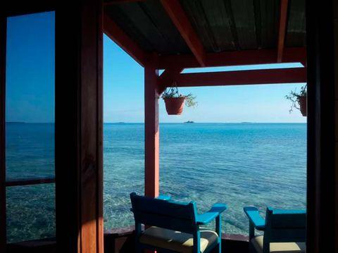 Alquila esta isla privada en Belice por 300 euros la noche