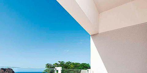 Property, Real estate, Wall, Azure, Home, Apartment, Turquoise, Teal, House, Aqua,