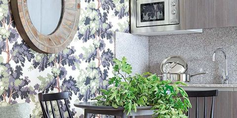 Green, Room, Wood, Interior design, Furniture, Wall, Home, Interior design, Living room, Picture frame,