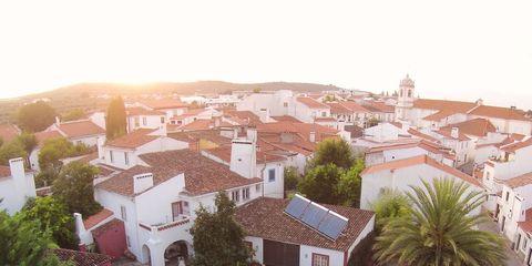 Residential area, Home, Town, Neighbourhood, Property, House, Human settlement, Roof, Urban design, Suburb,
