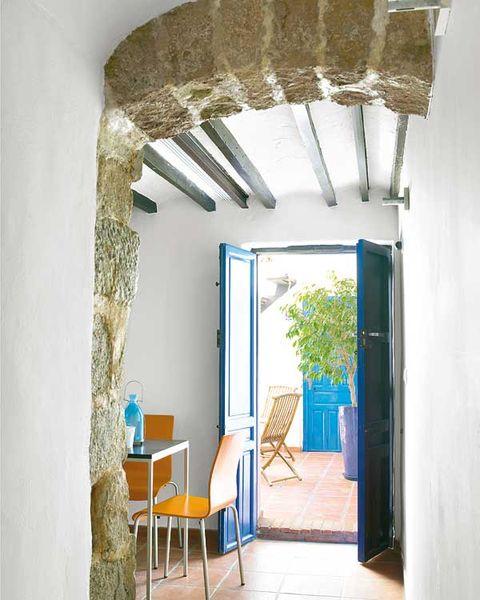 Interior design, Floor, Ceiling, Wall, Flooring, Room, Chair, Real estate, Fixture, Door,