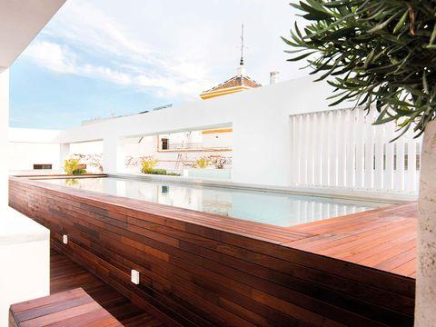 Hotel Mercer Sevilla: piscina