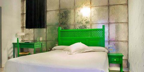Furniture, Bed, Bed frame, Bedroom, Room, Property, Interior design, Bed sheet, Suite, Architecture,