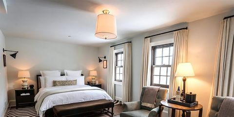 Bedroom, Furniture, Room, Bed, Interior design, Property, Bed sheet, Bed frame, Floor, Hardwood,