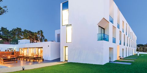 Architecture, House, Property, Green, Grass, Building, Facade, Home, Lawn, Residential area,