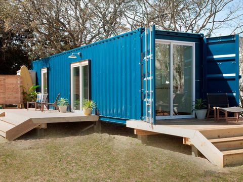 House, Home, Property, Transport, Architecture, Building, Shipping container, Real estate, Shed, Siding,