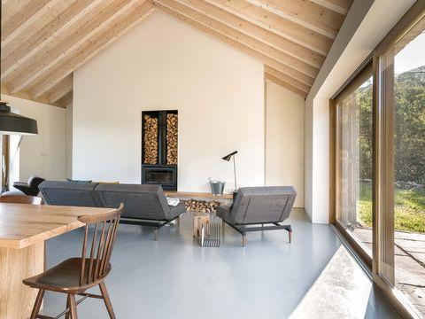 Room, Property, Interior design, Building, Furniture, House, Ceiling, Floor, Living room, Home,