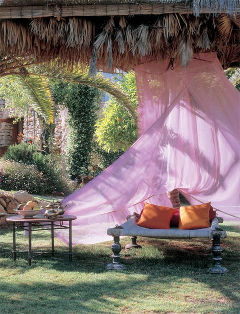Thatching, Purple, Garden, Shade, Yard, Tarpaulin, Yurt, Backyard, Outdoor furniture, Arecales,