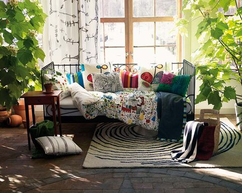 Room, Interior design, Window, Textile, Home, Furniture, Wall, Living room, Interior design, Floor,