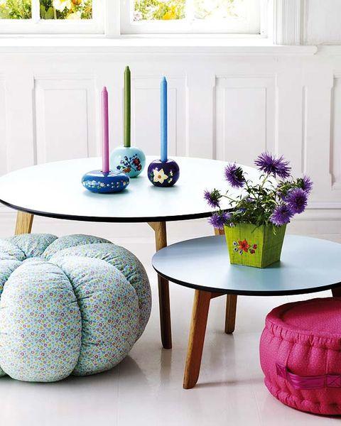 Blue, Room, Purple, Furniture, Table, Lavender, Violet, Flowerpot, Interior design, Interior design,