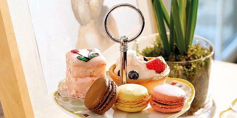 Cuisine, Food, Serveware, Finger food, Flowerpot, Sweetness, Dish, Dessert, Dishware, Baked goods,