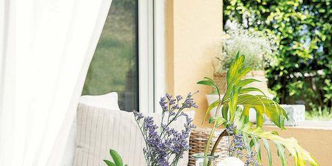 Interior design, Room, Table, Centrepiece, Furniture, Interior design, Dishware, Window treatment, Serveware, Curtain,
