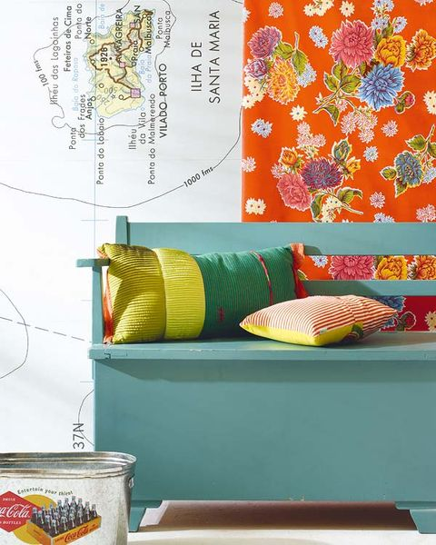 Teal, Orange, Turquoise, Aqua, Peach, Home accessories, Decoration, Creative arts, Synthetic rubber, Wallpaper,