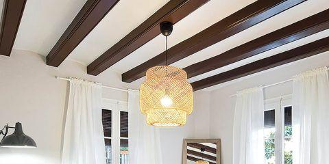 Room, Interior design, Floor, Property, Textile, Home, Ceiling, Wall, Living room, Interior design,