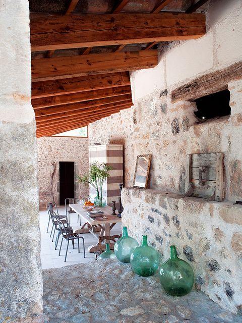 Room, Balloon, Floor, Wall, Brick, Interior design, Ceiling, Flooring, Hardwood, Teal,