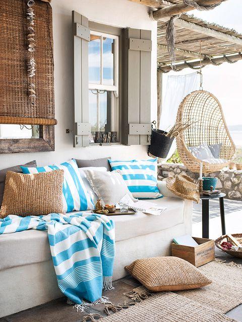 Blue, Room, Interior design, Teal, Turquoise, Aqua, Home, Pillow, Azure, Interior design,