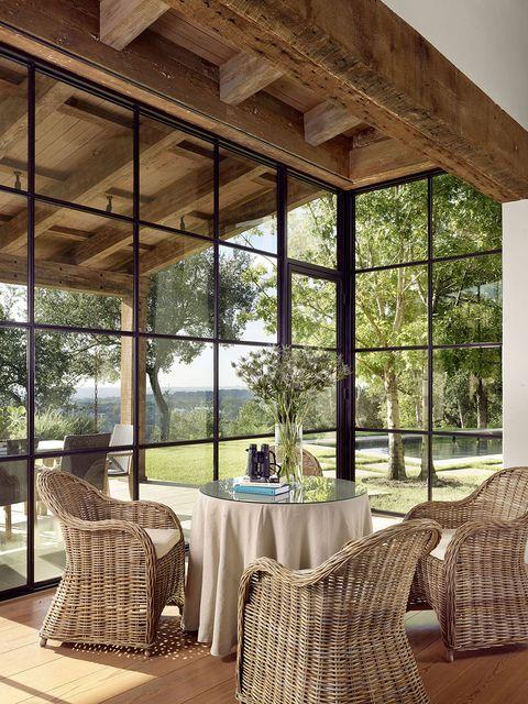 Room, Furniture, Property, Interior design, Building, Table, Living room, Home, House, Real estate,