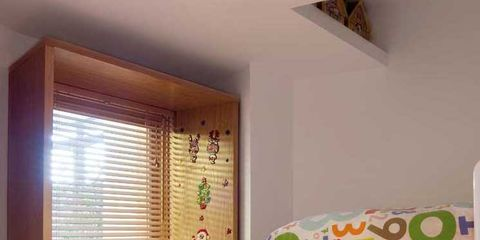 Room, Product, Interior design, Wood, Wall, Interior design, Window covering, Fixture, Home, Window treatment,