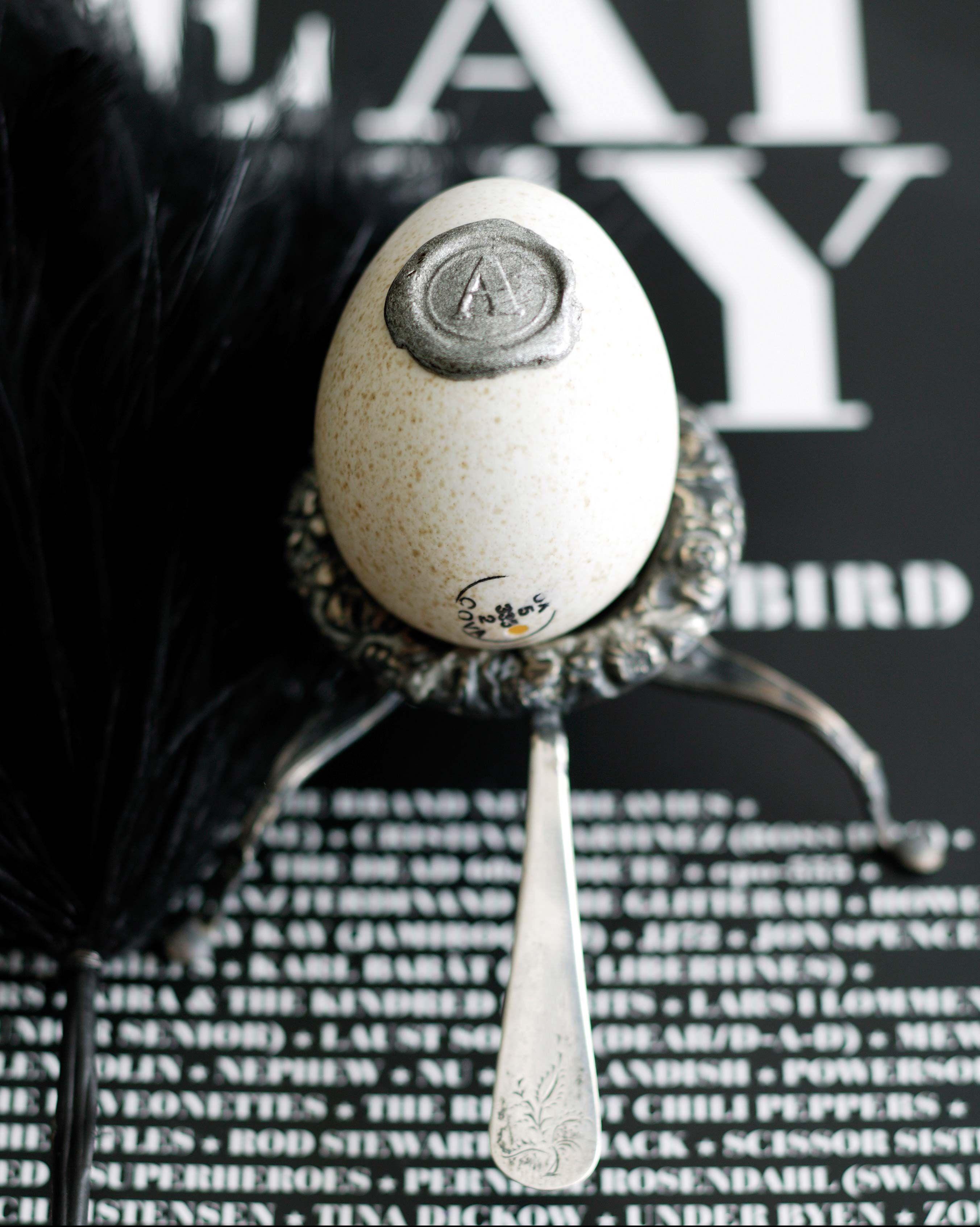 Huevo de Pascua con sello