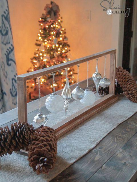 Wood, Room, Interior design, Christmas decoration, Conifer cone, Christmas tree, Home, Interior design, Holiday, Natural material,