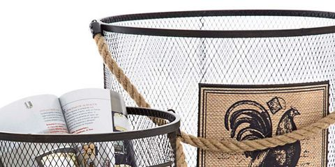 Product, Pet supply, Home accessories, Cage, Net, Basket, Wicker, Mesh, Costume accessory, Bird,