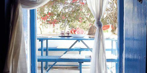 Decoraciñon estilo chic mediterráneo