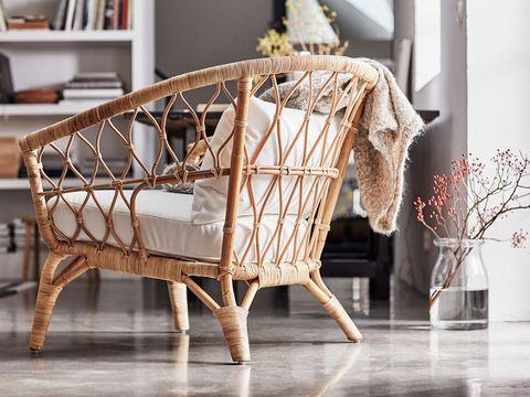 Product, Furniture, Wicker, Table, Room, Baby Products, Chair, Infant bed, Wood, Interior design,