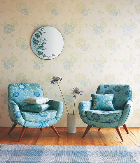 Blue, Green, Furniture, Turquoise, Teal, Aqua, Room, Wall, Interior design, Chair,