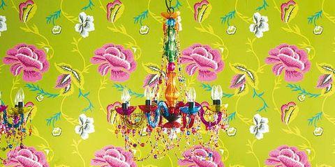 Yellow, Purple, Magenta, Violet, Wallpaper, Paint, Illustration, Painting, Decoration,