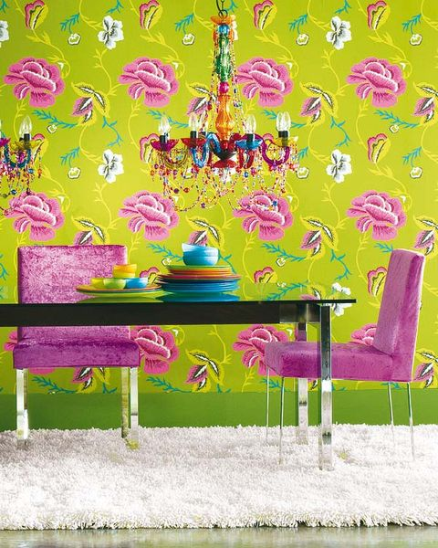 Yellow, Purple, Magenta, Violet, Wallpaper, Paint, Illustration, Painting, Decoration,