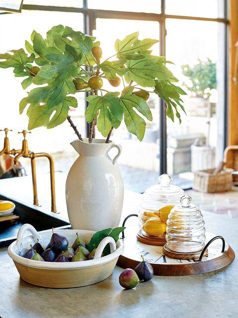 Flowerpot, Houseplant, Still life, Plant, Leaf, Room, Table, Window, Flower, Food,