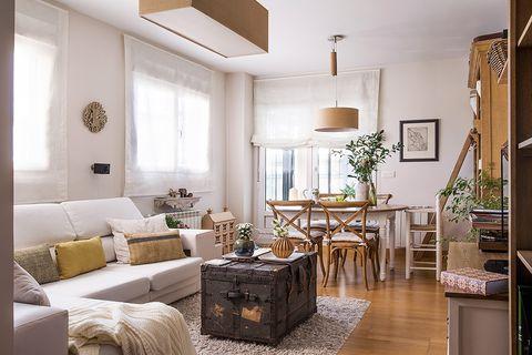 Furniture, Room, Living room, Interior design, Property, Ceiling, Building, Floor, Home, Wall,